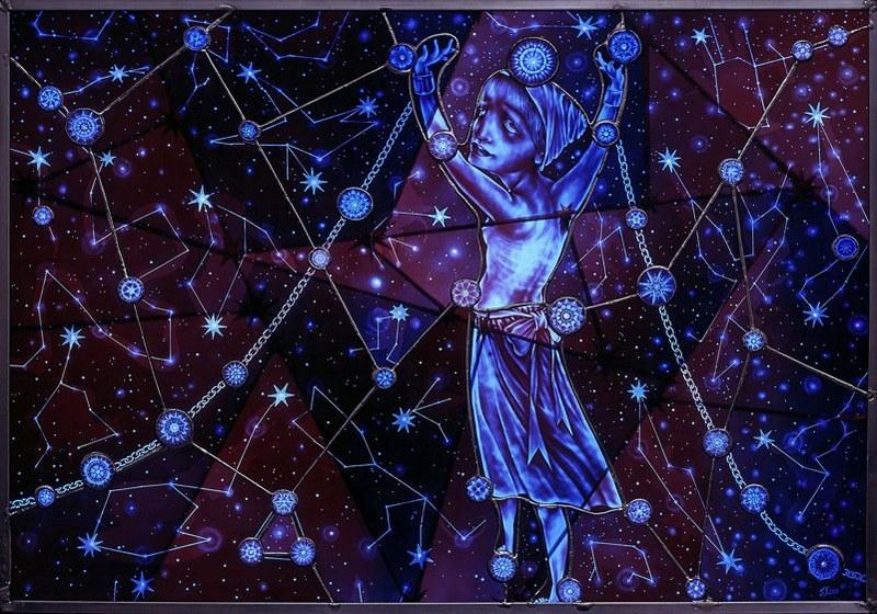 Judith Schaechter - Constellation